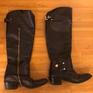 Vince Camuto High Leather Boots